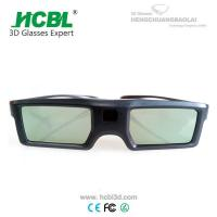 Light Weight TV 3D Active Shutter Glasses For Sign Acceptable By Bluetooth