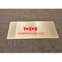 Buy cheap [6 inch / 150mm* #240 Grit ]Square shaped Electroplated diamond Lapping Plate  for glass lapidary jade abrasive product