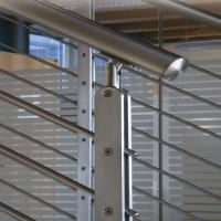 Buy cheap Satin finished stainless steel front porch railings for sale product