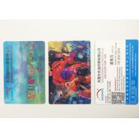Buy cheap Flip Effect  PP / PET 3D Lenticular Business Cards With Two Sides Printing product