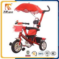 Buy cheap Chinese baby pedal tricycle Manufacturers sales new model children tricycle with umbrella canopy from wholesalers