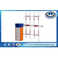 Buy cheap Driveway RFID Parking Lot Barrier System Traffic Barrier Gate With Fence Barrier Arm from wholesalers