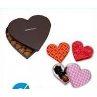 Buy cheap Handmade Red Heart Shaped Gift & Craft Cardboard Jewellery Gift Boxes for girls from wholesalers