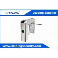 Buy cheap Card Reading Tripod Turnstile Gate / Half Height Turnstile For Office Visitor Management from wholesalers