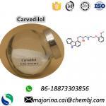 Buy cheap Carvedilol Pharma Raw Materials Antihypertensive drug CAS:72956-09-3 from wholesalers