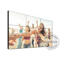China TV Diy Digital Signage Video Wall 1.7mm 49 Inch 3*3 4K DID Touch Screen Kiosk on sale
