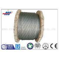 Buy cheap Strong Galvanized Steel Wire Rope , Aircraft Grade Wire Rope Anti Rotation For Heavy Machinery from wholesalers