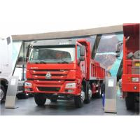 Buy cheap 12 Wheeler Sino Howo Dump Truck, 8x4 Tipper Truck For Mining / Construction Site from wholesalers
