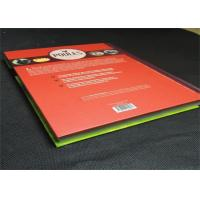 Buy cheap Casebond Hardcover Book Printing Services PMS Color For Entertainment , printing art books from wholesalers