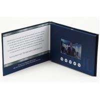 Buy cheap 7 hardback video brochure lcd presentation folder video greeting card from wholesalers