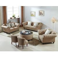 Buy cheap Beige Color Living Room Furniture Wooden Leisure Fabric Sectional Sofa 1+2+3 from wholesalers