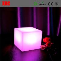 Buy cheap Hot Sale LED Cube Light ,Led Glow Cube Stool,Light Up Bar Stool Colorful Changing Indoor Night Light from wholesalers