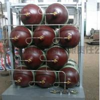 Buy cheap 34CrMo Seamless Cascade CNG Storage Tanks / Natural Gas Cylinder product
