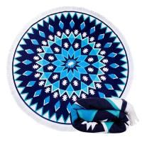 Buy cheap Colourful Round Beach Towel Beach Blanket Microfiber Towels Yoga Mat from wholesalers