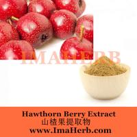 Buy cheap Factory Supply hawthorn fruit  extract plant extract Felicia@imaherb.com from wholesalers