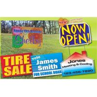 Buy cheap Outdoors Corrugated Plastic Sheets / Corrugated Plastic Yard Signs Full Color from wholesalers