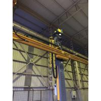 Buy cheap Yellow Painting Welding Column And Boom For Tank Circle Seam from wholesalers