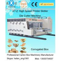 Buy cheap Automatic High Speed Carton Printer Slotter Die Cutter Machine 100 Pcs/Min from wholesalers