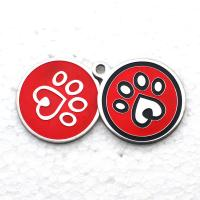 Buy cheap Personalized Dog Tags Custom Promotional Gifts Laser Engraved Metal Aluminium Blank Round from wholesalers