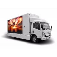 Buy cheap Car Mounted Mobile LED Display Screen , Truck TV Screens For Advertising from wholesalers