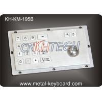 Panel Mount Industrial Industrial Keyboard with Trackball , 16 Keys Digital Keyboard