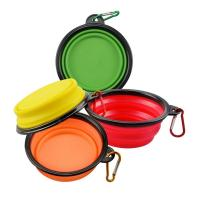Buy cheap Slow Feed Collapsible Dog Water Bowl , Interactive Durable Travel Dog Bowl Collapsible from wholesalers