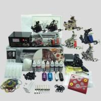 Buy cheap Complete Tattoo Kit 8 Tattoo Machine Gun Power Supply Inks Pigment Grip Tips Needles equipment set from wholesalers