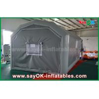Buy cheap 10 x 5m Gray Custom Inflatable Products PVC Inflatable Spray Booth For Car Spraying from wholesalers