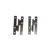 Buy cheap Self Color Uppolished Iron Flat Tip 140mm H Hinges For Doors from wholesalers