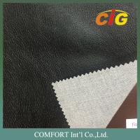 Buy cheap Synthetic Leather Fabric 0.6mm - 1.2mm With Plain , Printing , Shiny , Dots from wholesalers