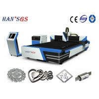 Buy cheap 1000W / 1500W / 2000W Metal Fiber Laser Cutting Machine 1000W With Sevor Motor from wholesalers
