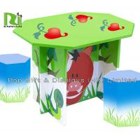 Buy cheap Recyclable Cardboard Furniture Display Beautiful Kids Cardboard Chair And Desk from wholesalers