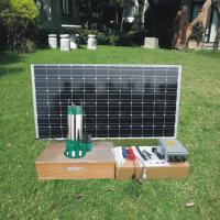 Buy cheap Agricuture DC Submersible Solar Pond Pump for Dirty Water / Living Water from wholesalers