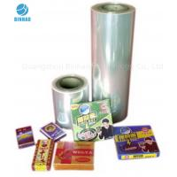 Buy cheap Transparent Heat Sealing BOPP Packaging Film for Food Cosmetics Box product