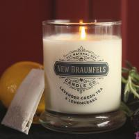 Buy cheap Glass Material Scented Jar Candle Luxury Soy Wax Candles Customized Fragrance from wholesalers
