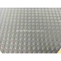 Buy cheap Non - Slip Outdoor Rubber Mats With Dot Studed Pattern / Rubber Garage Mats from wholesalers