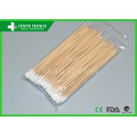 Buy cheap High Absorbent Medical Cotton Applicator With Wooden And Plastic Stick from wholesalers
