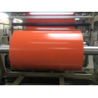 Buy cheap 1000D Flame Retardant Orange PVC Tarpaulin Fabric Roll For Cover , Shade , Tent from wholesalers