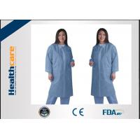 Buy cheap Waterproof medical student lab coat , disposable lab jackets For Doctors Zip Closure from wholesalers