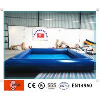 Dark blue inflatable above ground pools swimming pool for Above ground swimming pools for kids