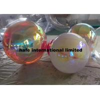 Buy cheap Diameter 5m Inflatable Mirror Balloon Inflatable Show Mirror Ball Reflect Light from wholesalers