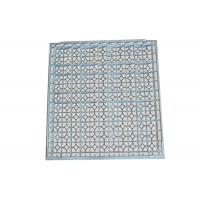 Buy cheap 55% Air Rate Anti Static Raised Floor Perforated Tiles Sound Proof from wholesalers