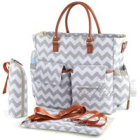 Buy cheap Chic Mummy Backpack Diaper Bag With Changing Pad And Bottle Holder from wholesalers