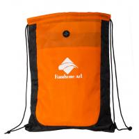 Buy cheap Drawstring Promotional Polyester Reuseable Shopping Bag-HAD14014 product