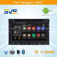 Buy cheap Android 4.4 car dvd player GPS navigation for Peugeot 3008 5008 with wifi radio ipod mp3 from wholesalers