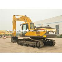 Buy cheap LINGONG hydraulic excavator LG6250E with hydraulic drive and 1 m3 and VOLVO techinique from wholesalers