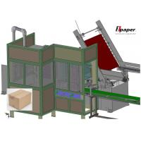 Full Automatic Case Packer Air Packing Machine For Tissue Paper Packing Cartoning Machinery