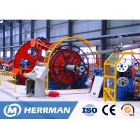 Buy cheap High Speed Cage Type Pvc Wire Manufacturing Machine , Cable Laying Up Machine from wholesalers