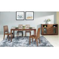 Buy cheap Modern Style Contemporary Dining Room Furniture Classic Walnut Wood Color from wholesalers