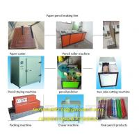 Buy cheap newspaper pencil making machine from wholesalers